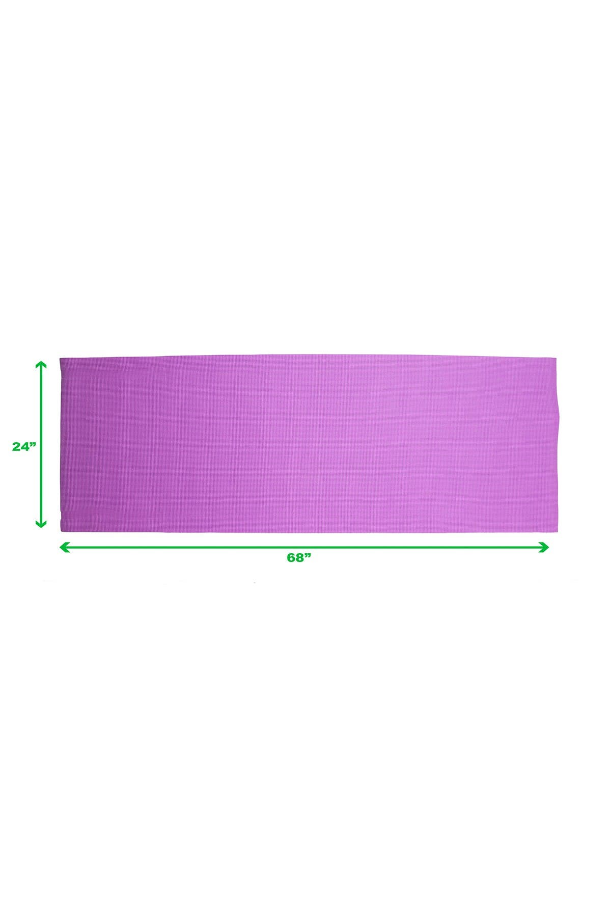 Image of MIND READER All Purpose Extra Thick Yoga Mat & Carrying Strap