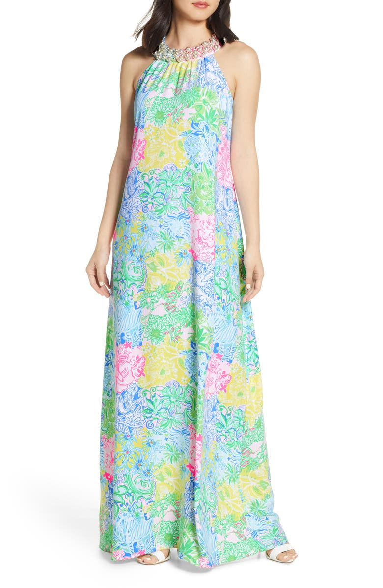 LILLY PULITZER<SUP>®</SUP> Shawn Maxi Dress, Main, color, 300