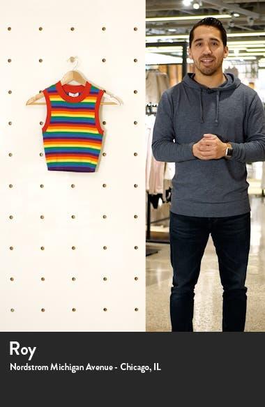 Be Proud by BP. Gender Inclusive Stripe Crop Sweater Tank, sales video thumbnail