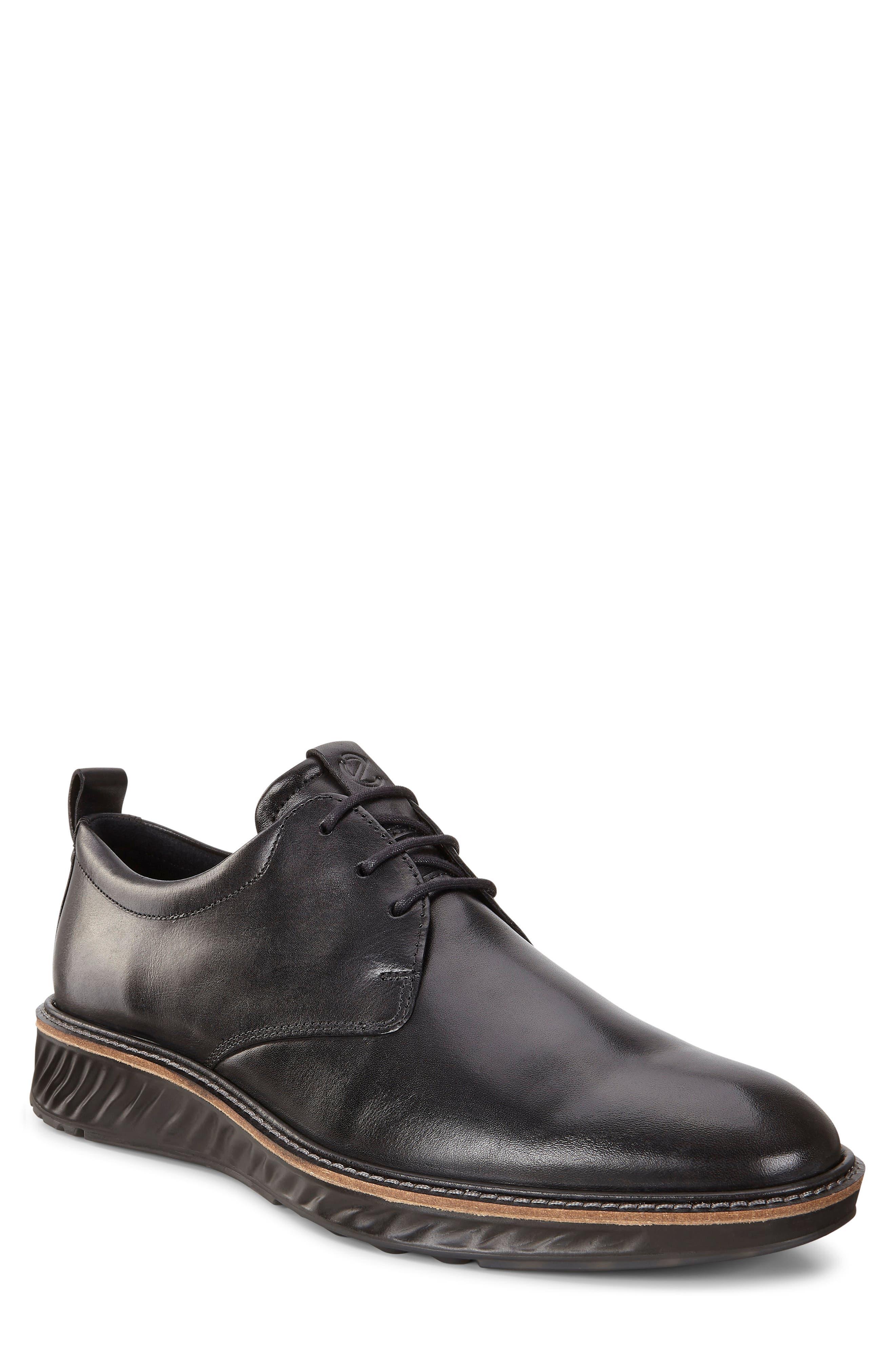 ecco black dress shoes
