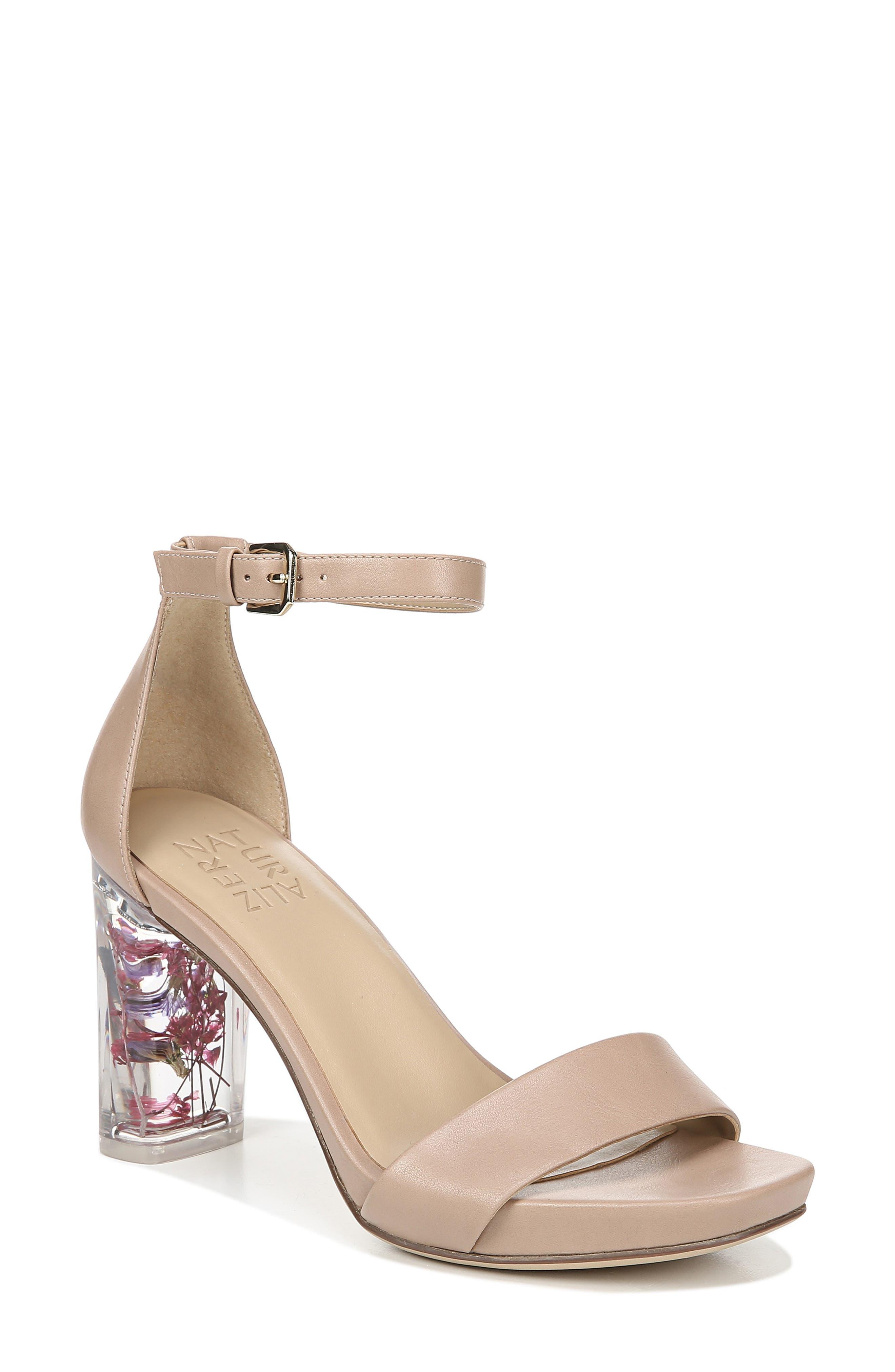 Joy Block Heel Sandal, Main, color, GINGERSNAP SMOOTH LEATHER