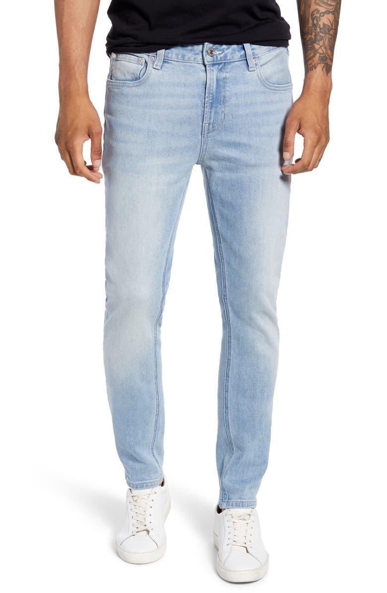SCOTCH & SODA Skim Slim Fit Jeans, Main, color, 400