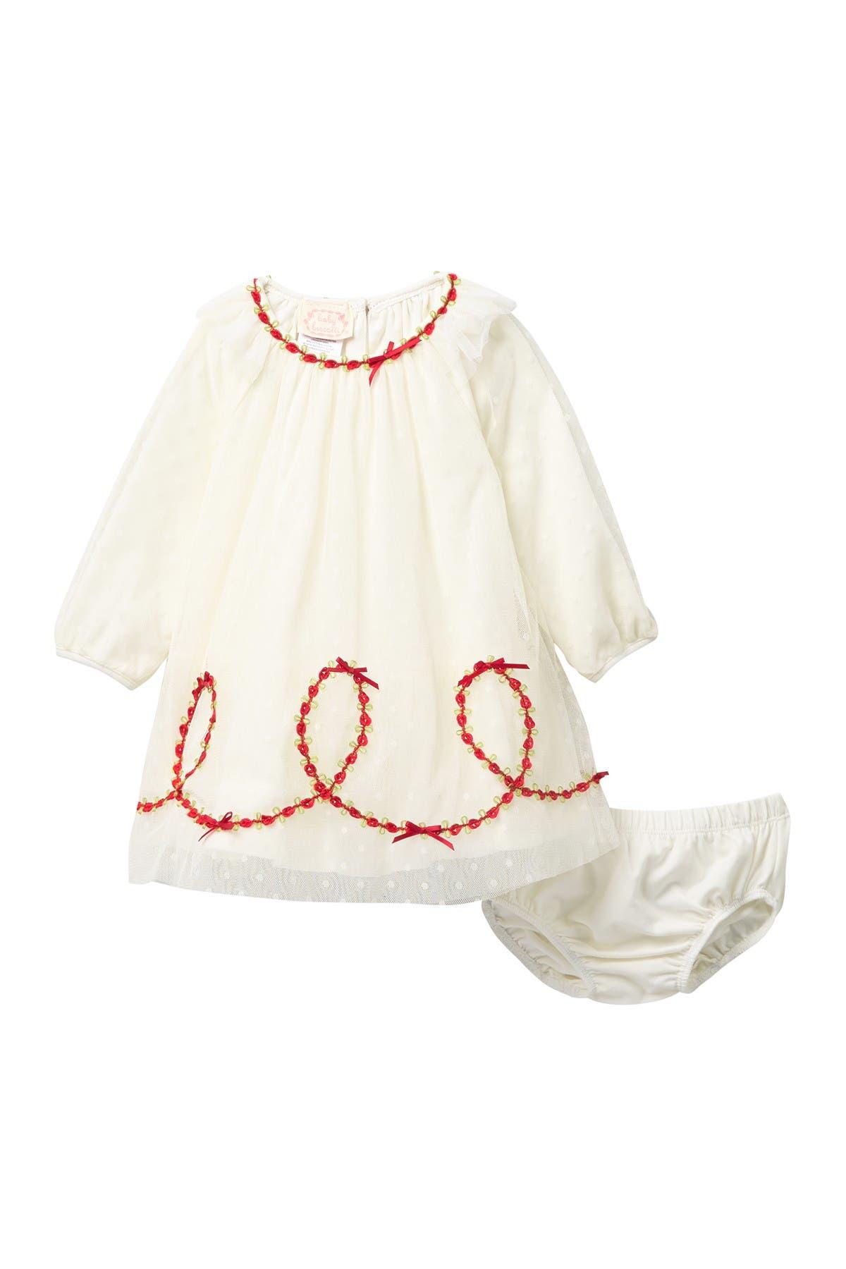 BISCOTTI Puffy Sleeve Dress Set