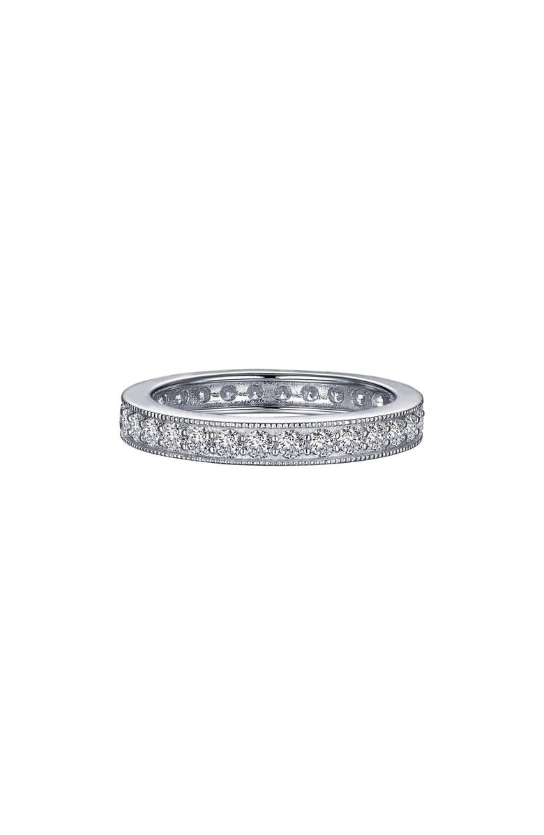 LAFONN Simulated Diamond Eternity Band, Main, color, 040