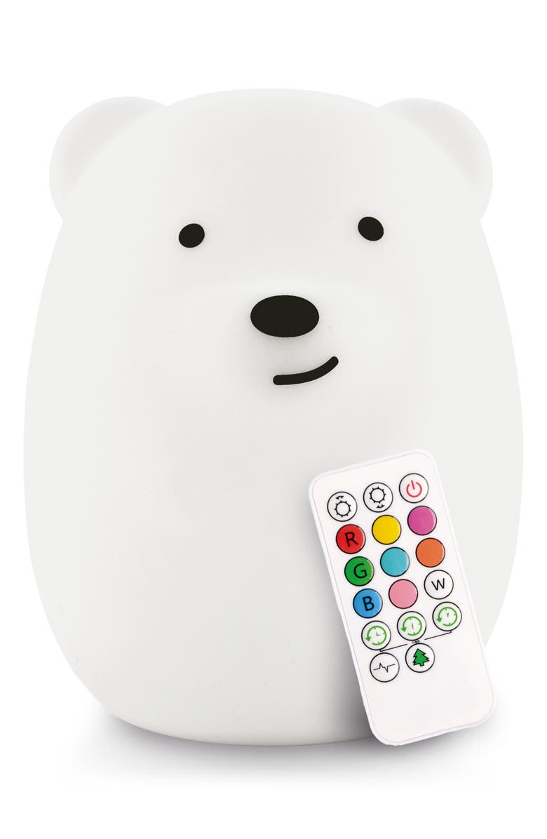 LUMIPETS Bear Night Light, Main, color, 100