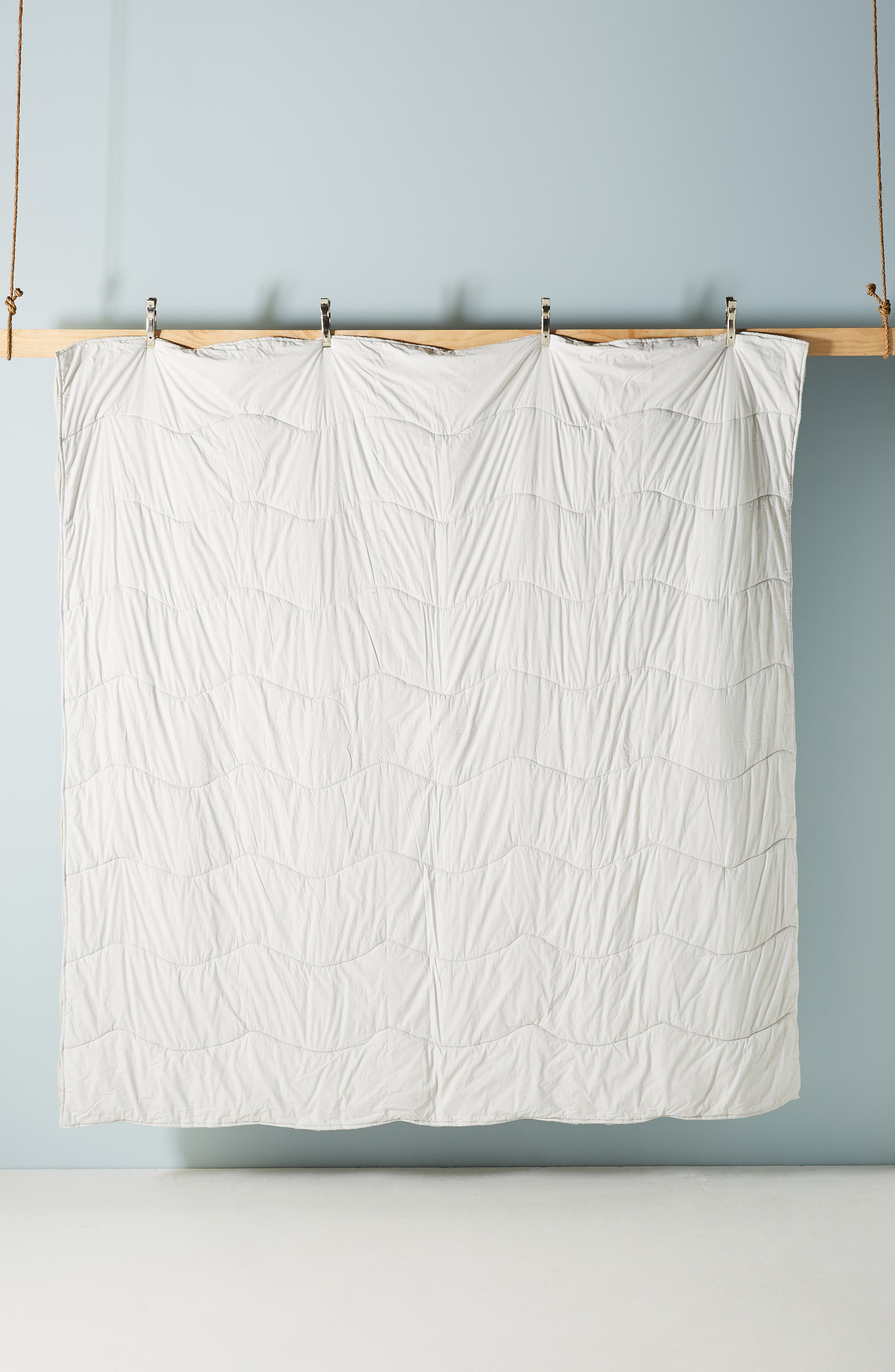 ,                             Ruched Wave Quilt,                             Alternate thumbnail 2, color,                             GREY