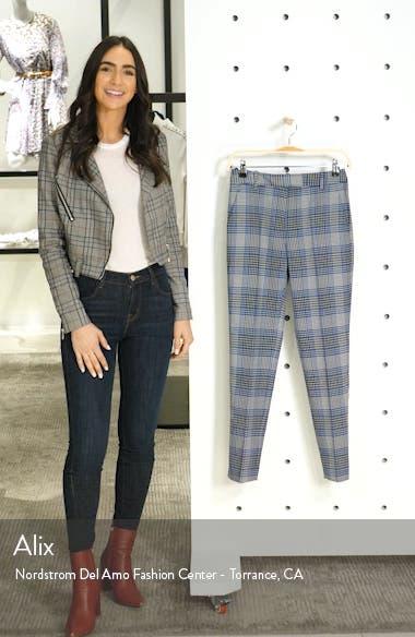 Josie Plaid Ankle Trousers, sales video thumbnail