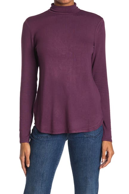 Image of Premise Cashmere Mock Neck Long Sleeve Top