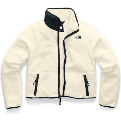The North Face Dunraven Faux Shearling Jacket, White