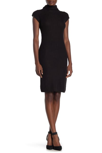 Image of Max Studio Cap Sleeve Sweater Dress