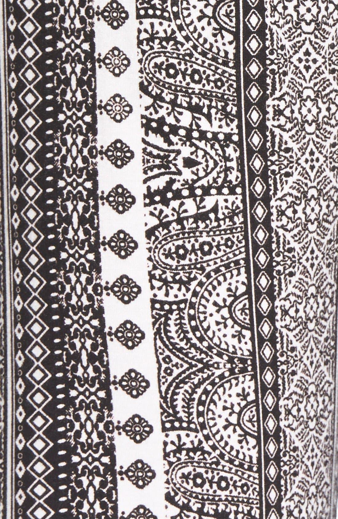 ,                             Mixed Print Flare Leg Pants,                             Alternate thumbnail 60, color,                             153
