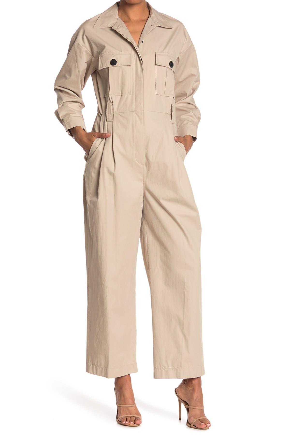 Image of ba&sh Clot Point Collar Jumpsuit