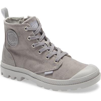 Palladium Pampa Zip Bootie, Grey