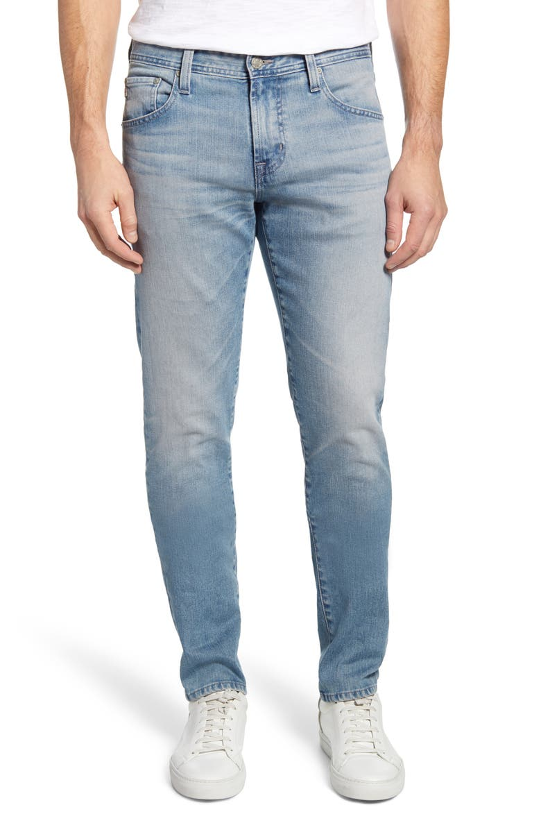 AG Tellis Slim Fit Jeans, Main, color, 22 YEARS BUCKLEY
