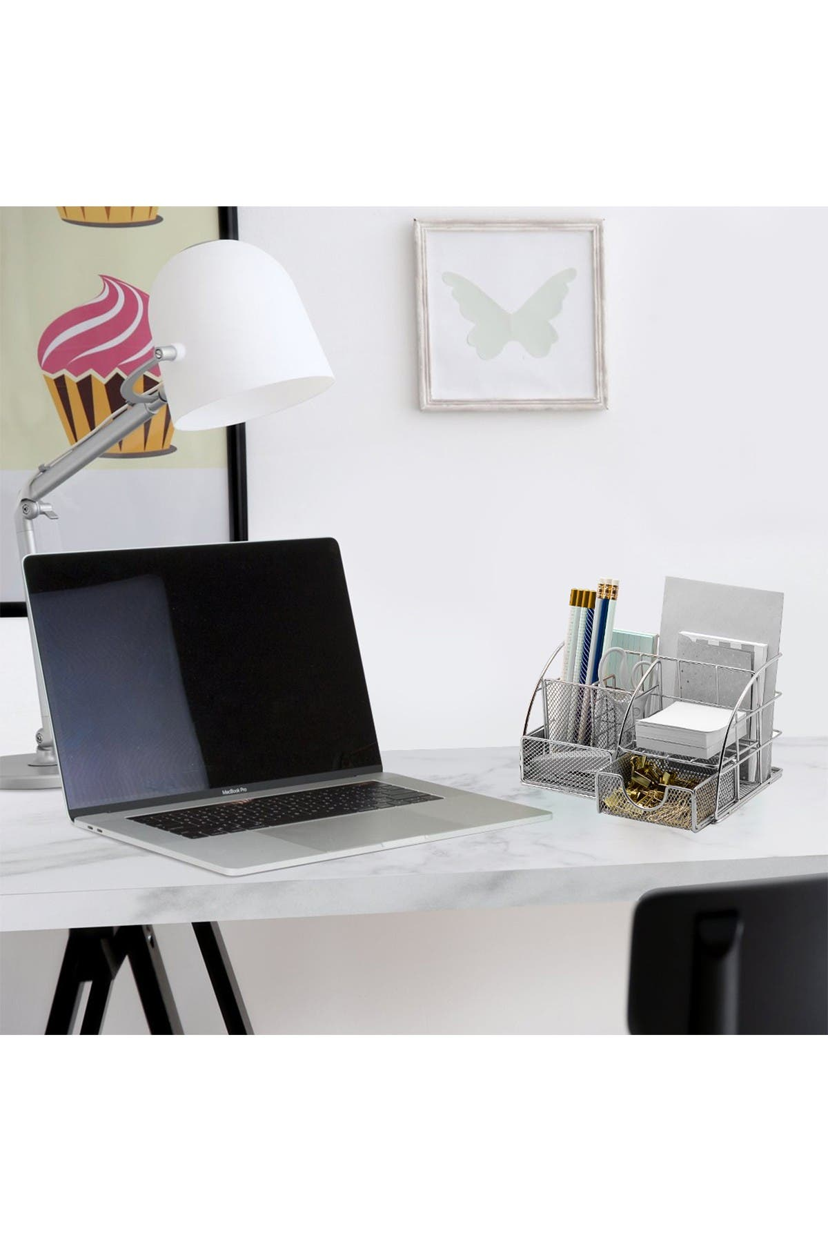Image of Sorbus All-in-One Stylish Mesh Desktop Caddy