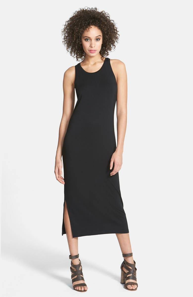 STEM Racerback Midi Dress, Main, color, 001