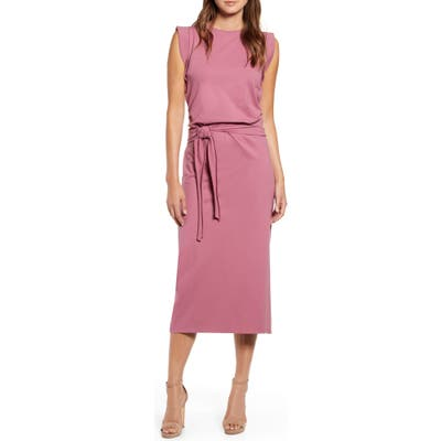 Bishop + Young French Terry Dress, Pink