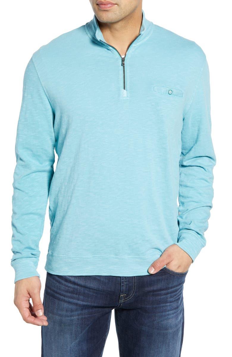JOHNNIE-O Kaene Regular Fit Half Zip Pullover, Main, color, 020