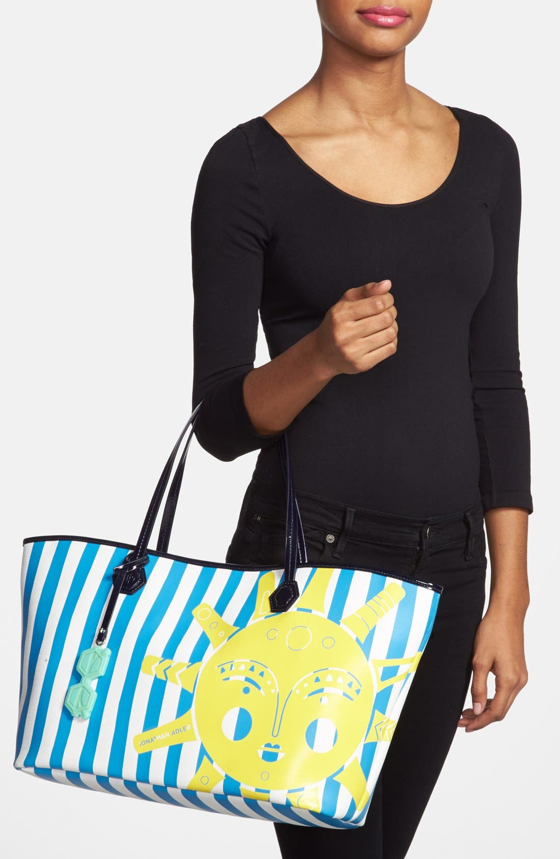 ,                             'Animal Duchess' Tote,                             Alternate thumbnail 8, color,                             400