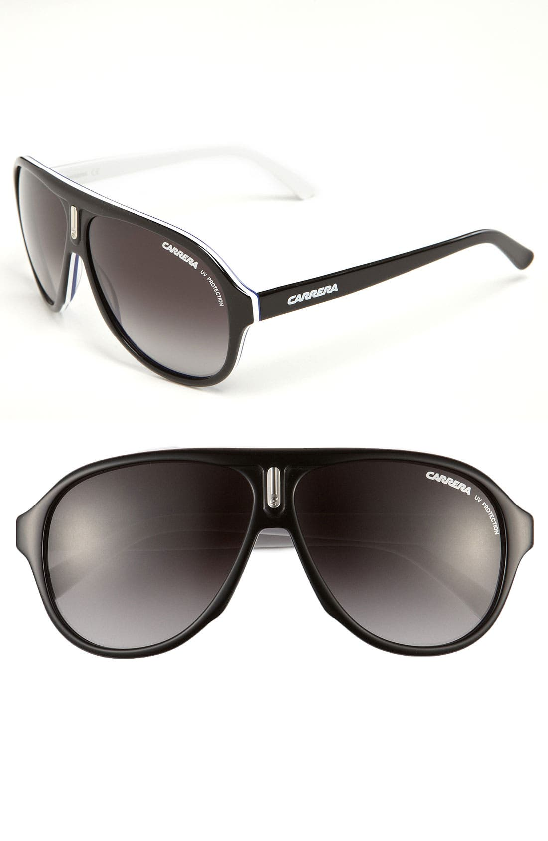 ,                             59mm Aviator Sunglasses,                             Main thumbnail 2, color,                             002
