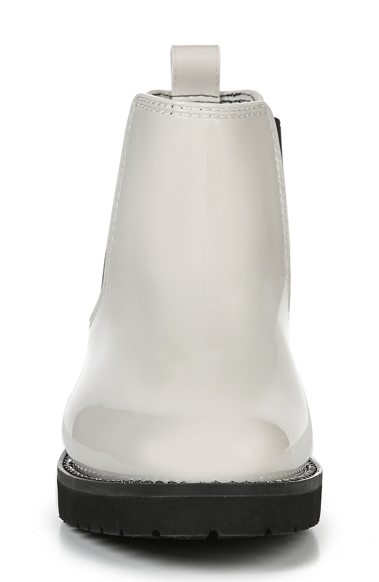 ,                             Luna Waterproof Chelsea Boot,                             Alternate thumbnail 4, color,                             CREAM