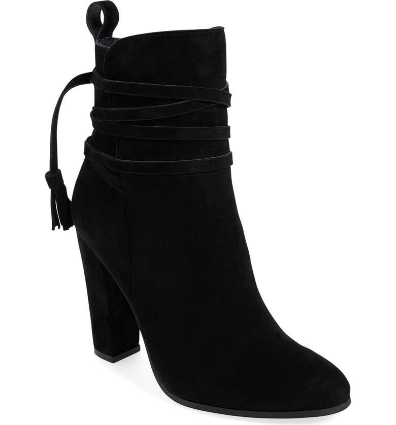 STEVE MADDEN 'Glorria' Block Heel Bootie, Main, color, 006