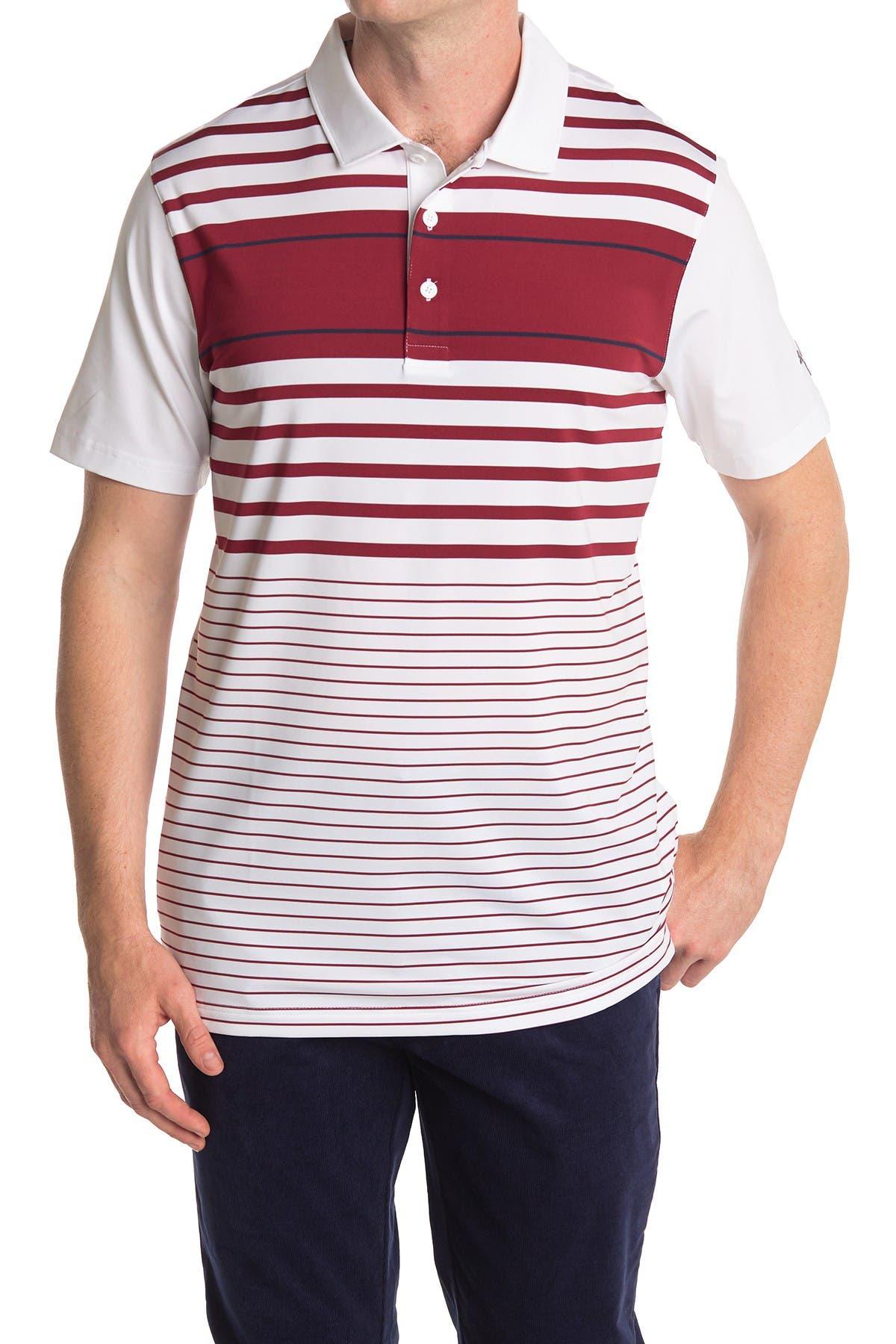 Image of PUMA Red Spotlight Golf Polo