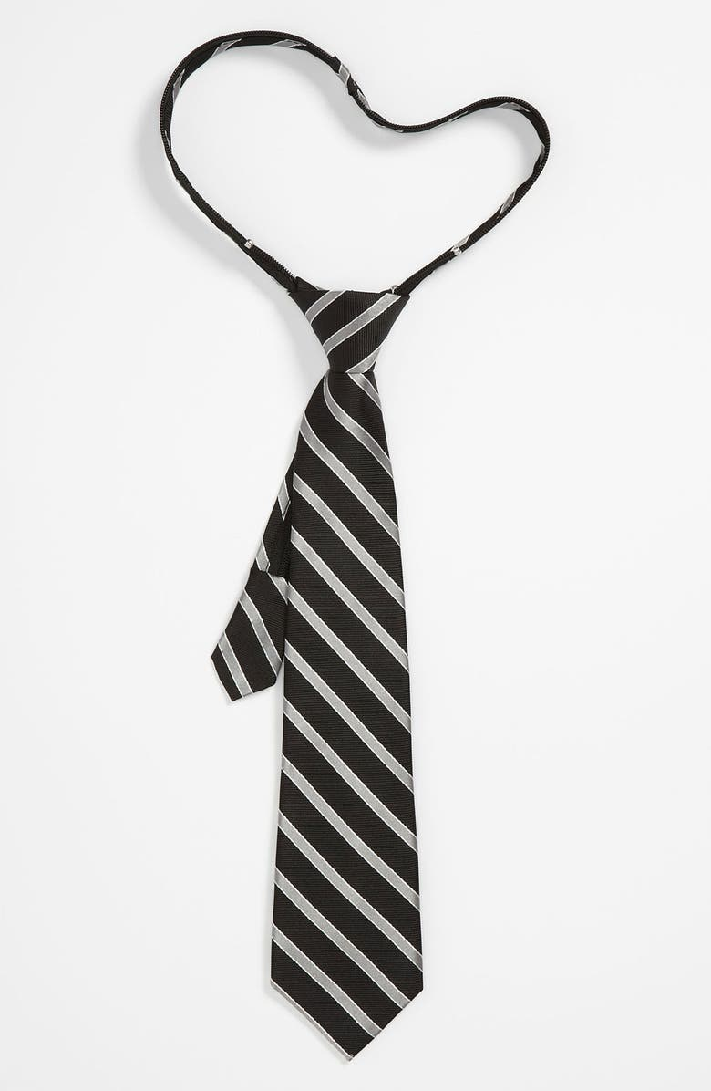 NORDSTROM Zipper Tie, Main, color, 001