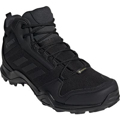 Adidas Ax3 Mid Gore-Tex Waterproof Hiking Shoe, Black