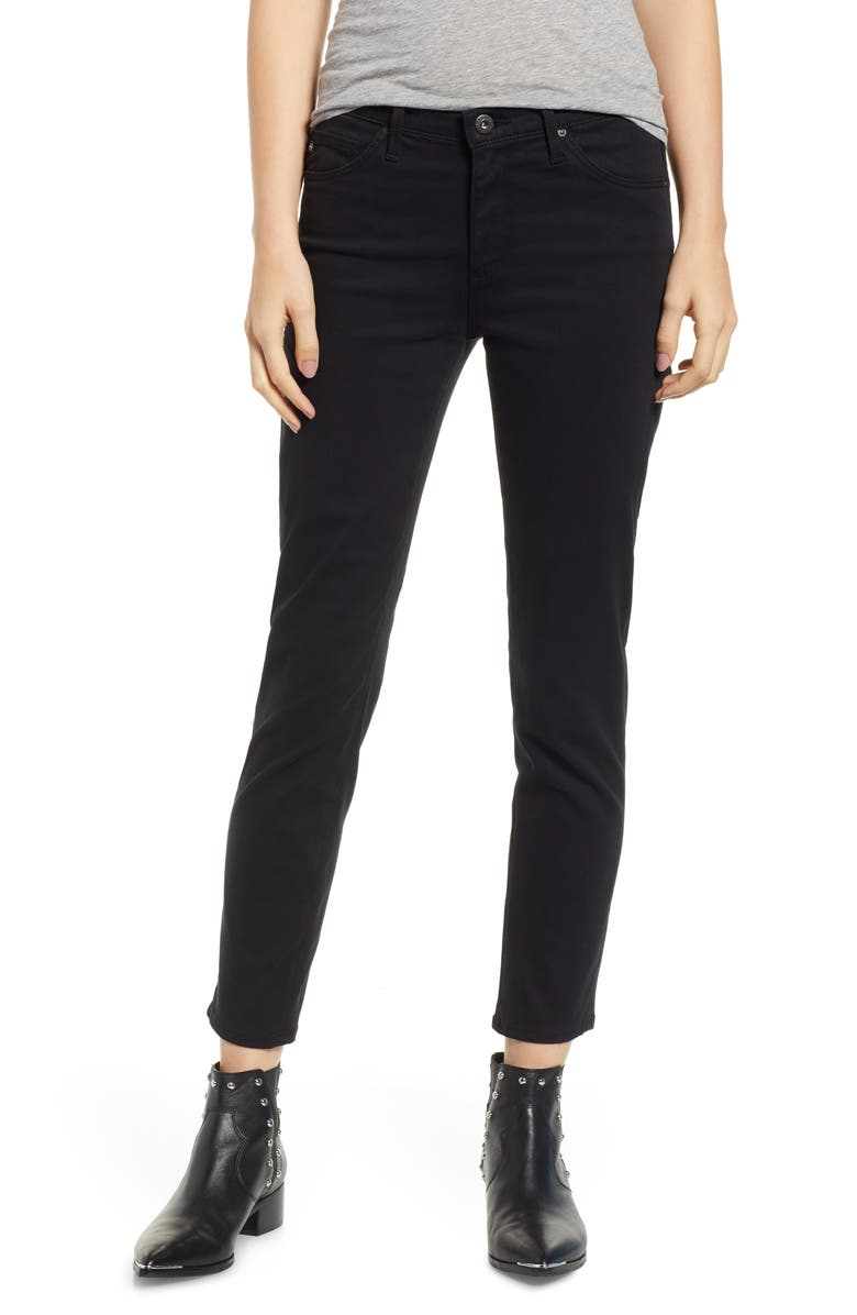 AG The Prima Crop Cigarette Jeans, Main, color, 010