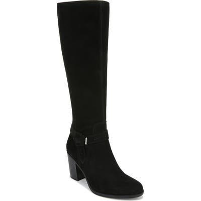Naturalizer Kamora Knee High Boot Wide Calf- Black