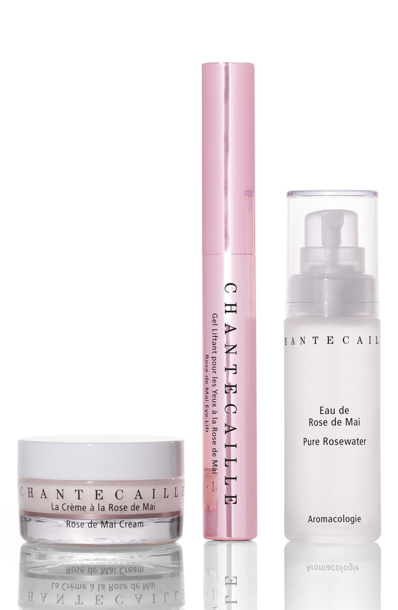 CHANTECAILLE Rose de Mai Travel Essentials Set, Main, color, 000