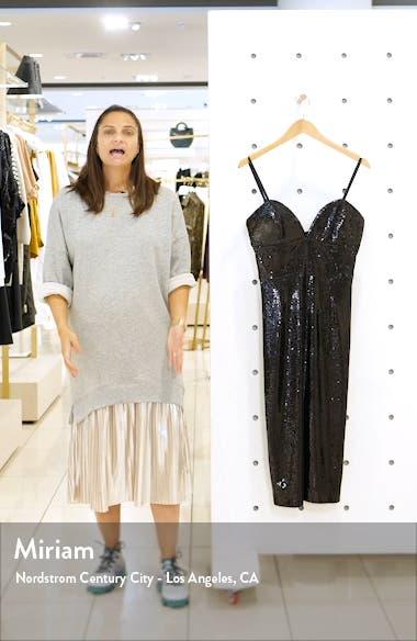 Dita Sequin Cocktail Dress, sales video thumbnail