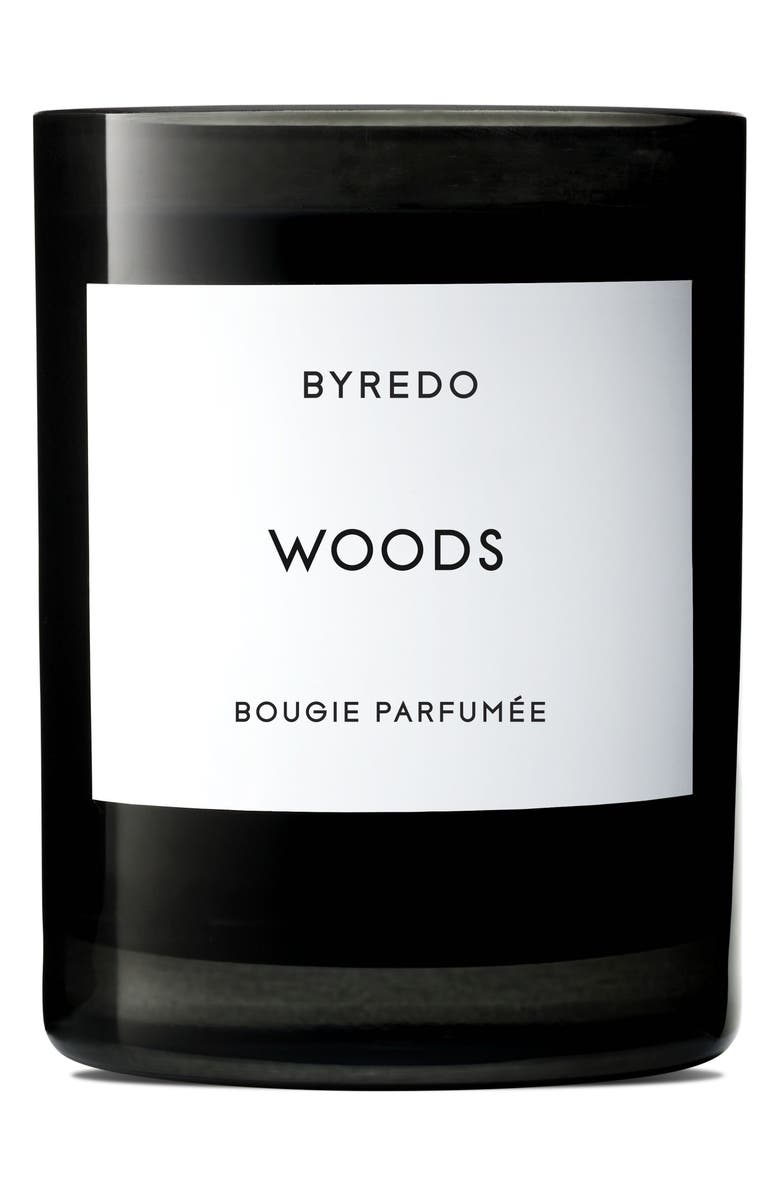 BYREDO Woods Candle, Main, color, NO COLOR