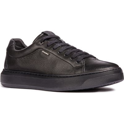 Geox Deiven 4 Low Top Sneaker, Black