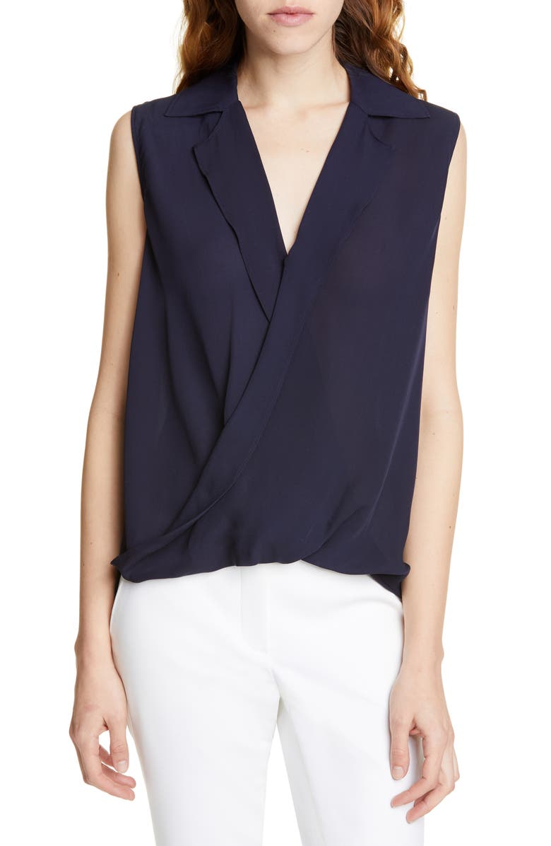JUDITH & CHARLES Gehry B Sleeveless Blouson Top, Main, color, 460