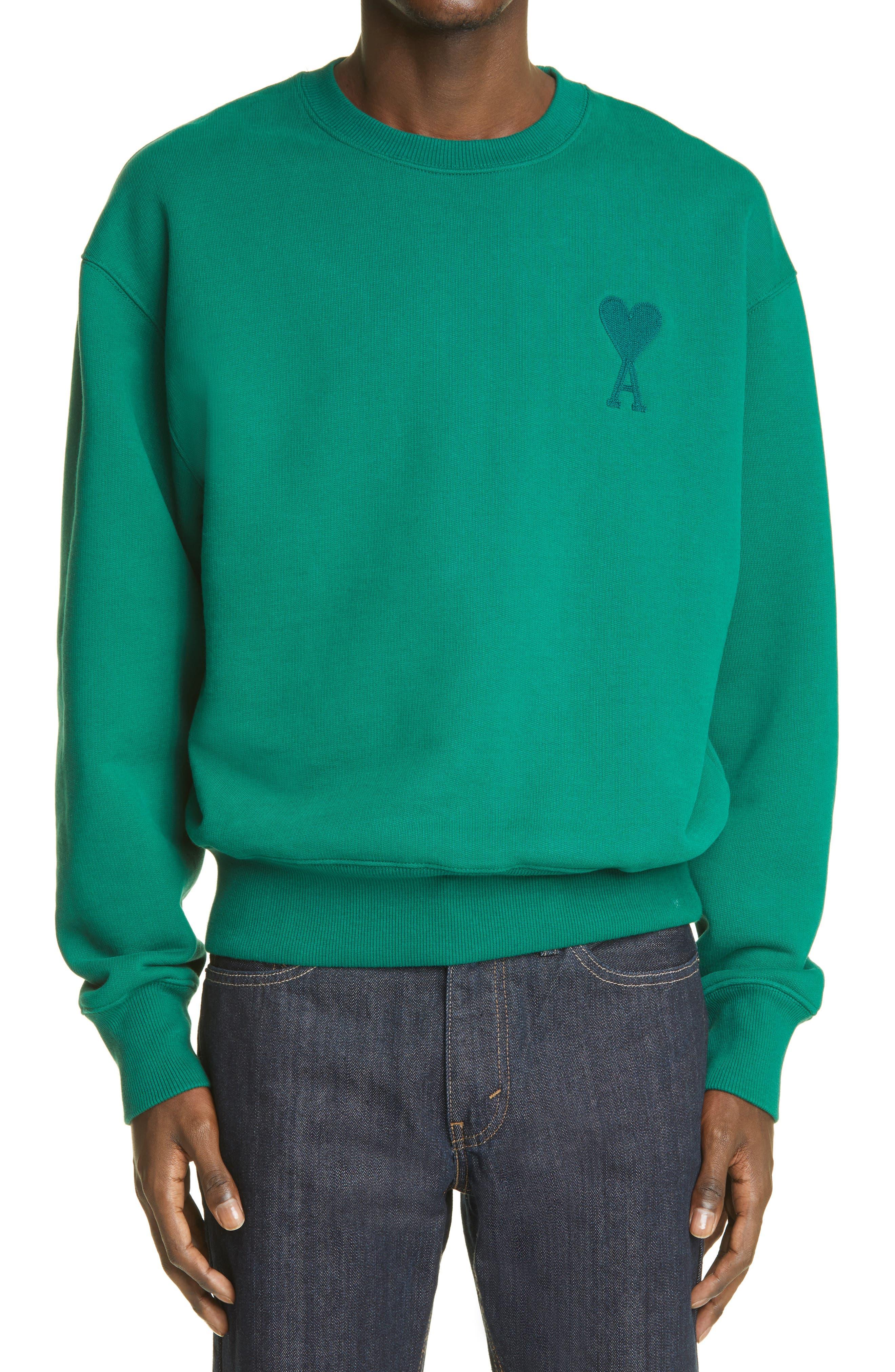 Ami De Coeur Embroidered Organic Cotton Sweatshirt