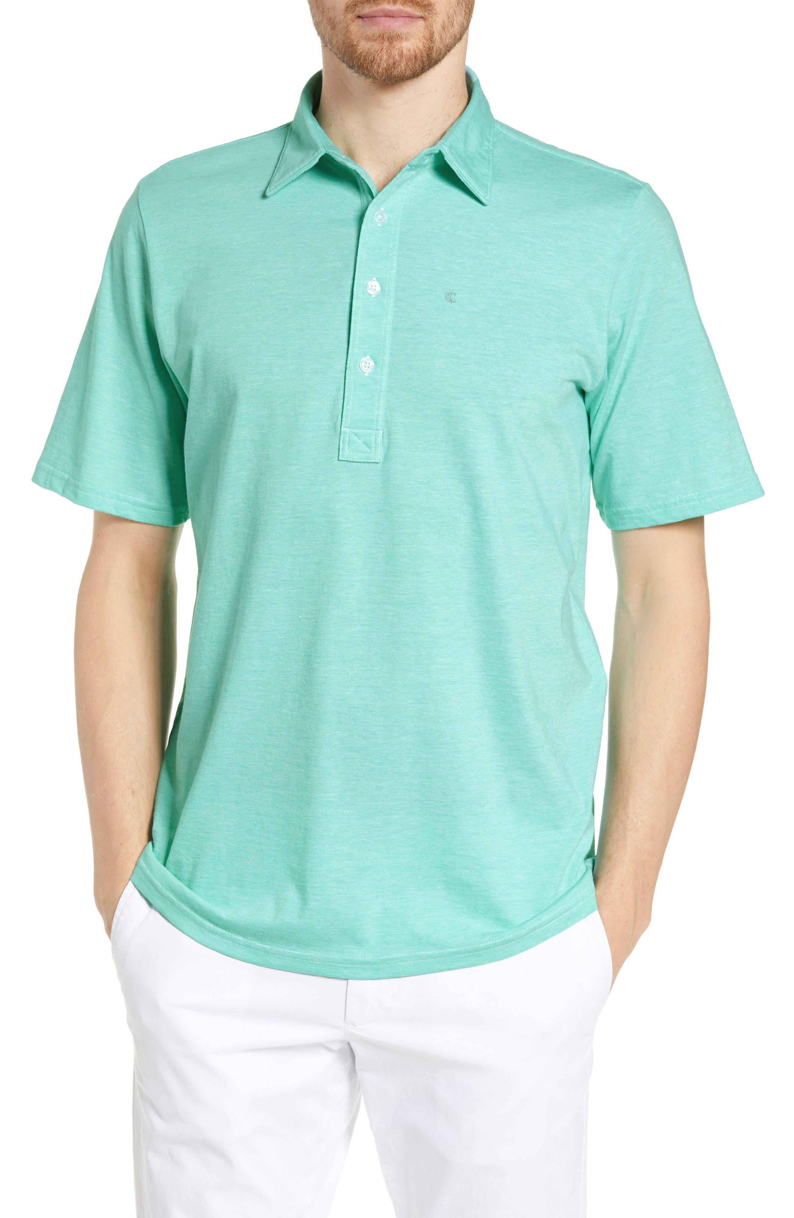 Criquet Range Regular Fit Jersey Polo, Green
