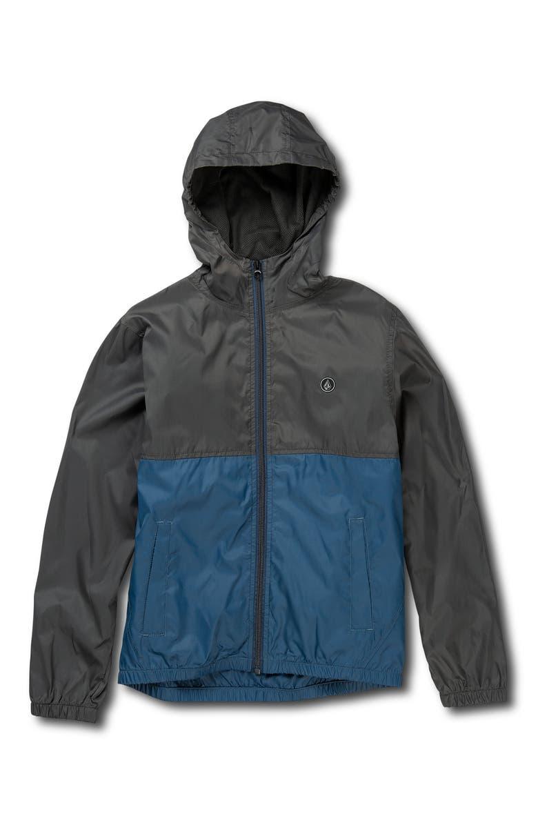 VOLCOM Ermont Light Jacket, Main, color, SMOKEY BLUE