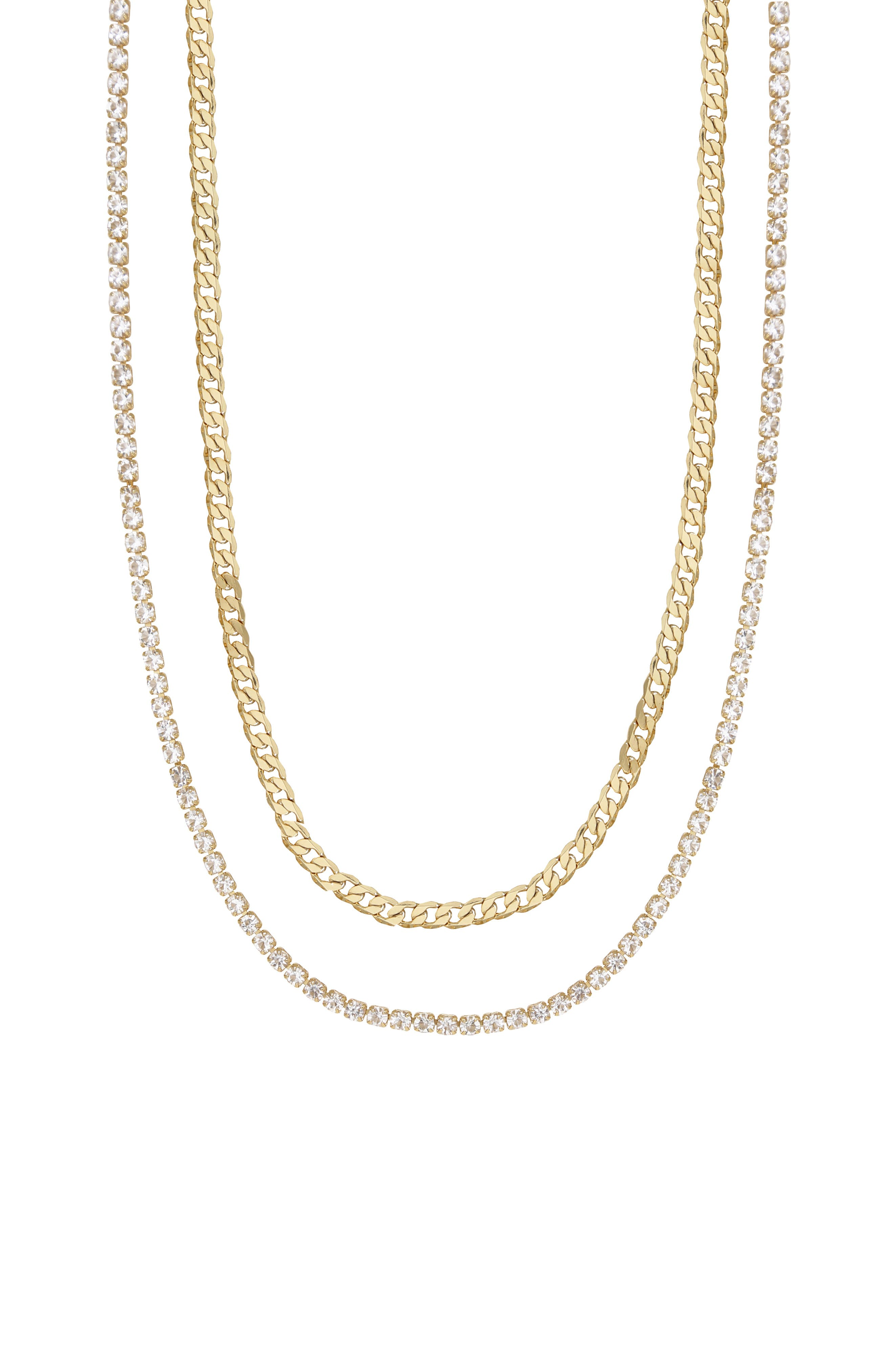 Set Of 2 Chain Necklaces
