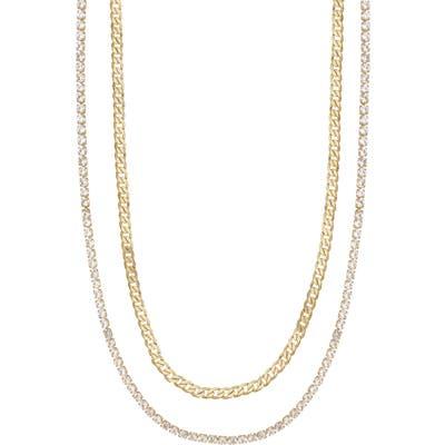 Ettika Set Of 2 Chain Necklaces
