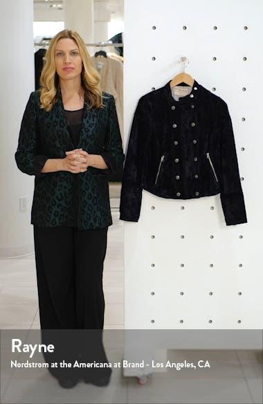 Dusk Till Dawn Velvet Moto Jacket, sales video thumbnail