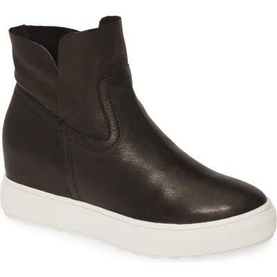 Jslides Posh Hidden Wedge Sneaker, Black