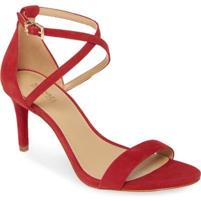 Michael Michael Kors Ava Strappy Sandal, Red