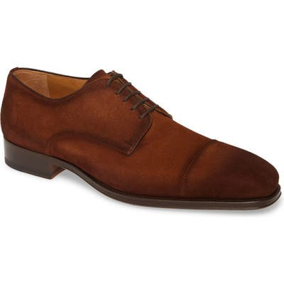 Magnanni Lyle Cap Toe Derby, Brown