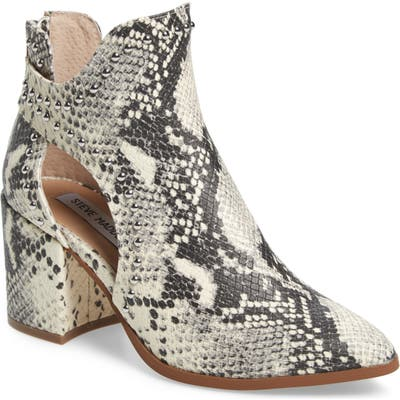 Steve Madden Justice Studded Cutout Bootie, Brown
