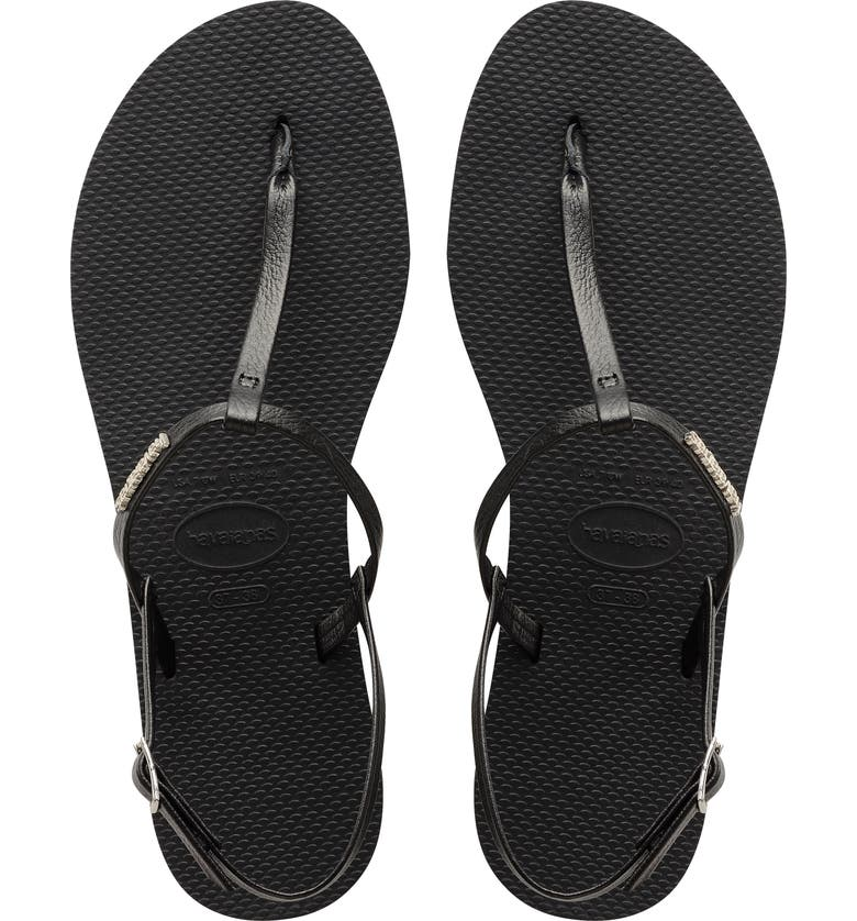 HAVAIANAS You Riviera Sandal, Main, color, NEW BLACK