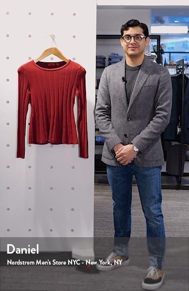 Sierita Peplum Ribbed Pullover, sales video thumbnail