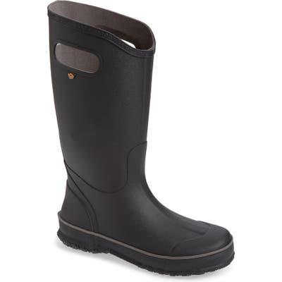 Bogs Waterproof Rain Boot, Black
