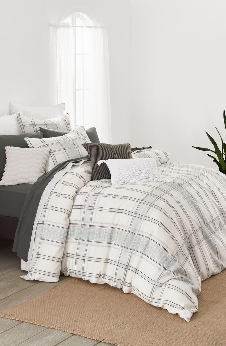 SPLENDID HOME DECOR Solana Comforter & Sham Set, Main, color, IVORY MULTI